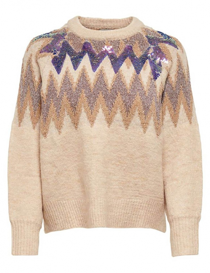 ONLY MAGLIA  ZIG PAILLETTES