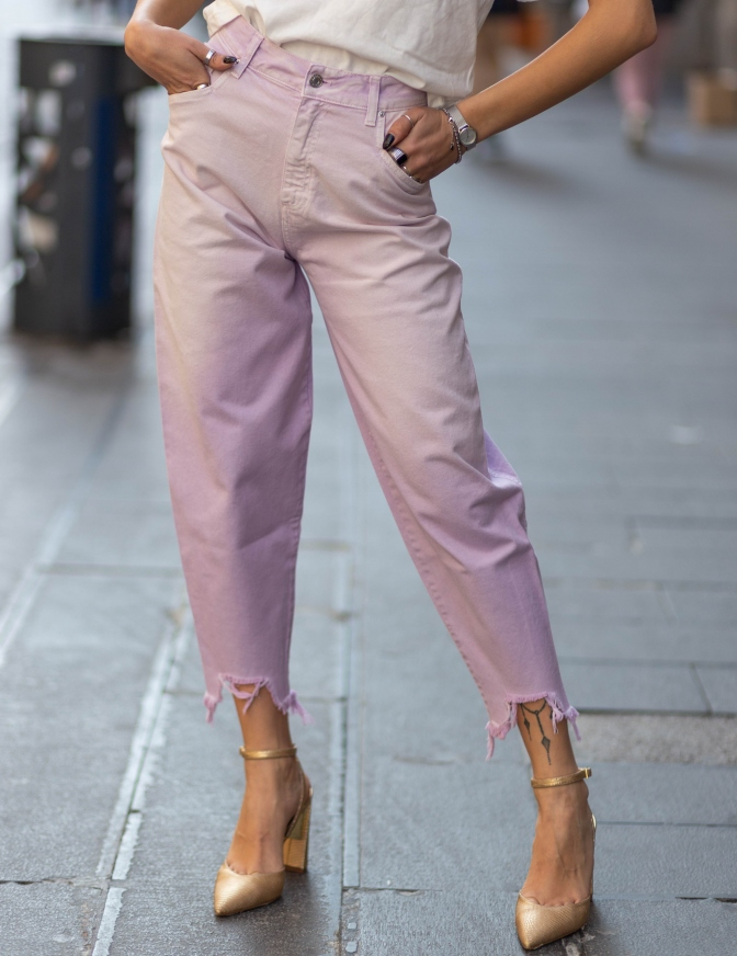 VICOLO JEANS  PINK